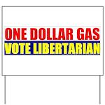 Rylla's Dollar Gas Yard Sign