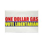 Rylla's Dollar Gas Rectangle Magnet