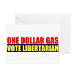 Rylla's Dollar Gas Greeting Cards (Pk of 10)