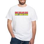 Rylla's Dollar Gas White T-Shirt