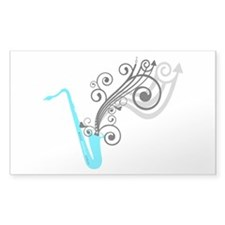 Saxaphone Decal