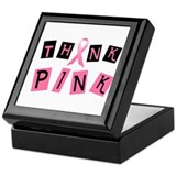 Think Pink 2 Keepsake Box