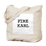 Fire Karl Tote Bag