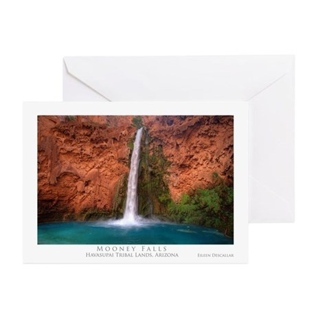 Mooney Falls and Pool Greeting Cards (Pk of 10)