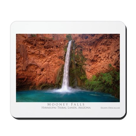 Mooney Falls and Pool Mousepad
