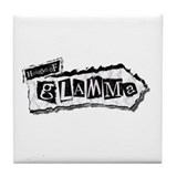 House of Glamma Tile Coaster
