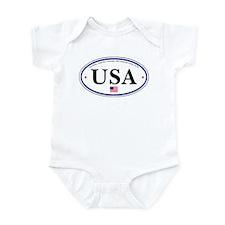 USA Emblem Infant Bodysuit