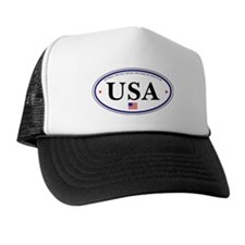USA Emblem Trucker Hat