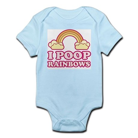 I POOP RAINBOWS - Infant Bodysuit