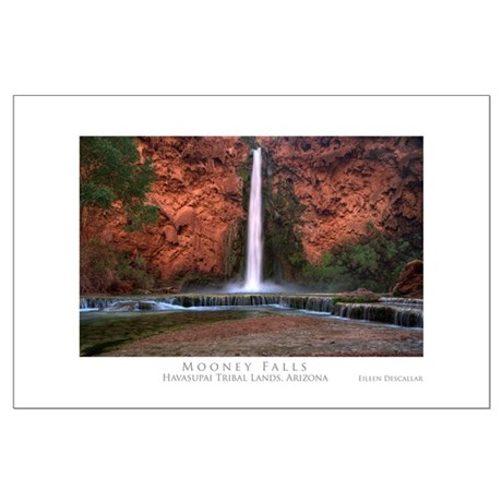 Mooney Falls Large Poster