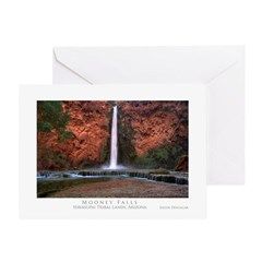 Mooney Falls Greeting Card
