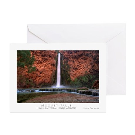 Mooney Falls Greeting Cards (Pk of 10)