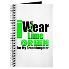 Lime Green Granddaughter Journal