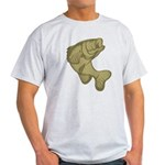 Smallmouthed Bass Light T-Shirt