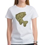 Smallmouthed Bass Women's T-Shirt