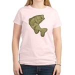 Smallmouthed Bass Women's Light T-Shirt