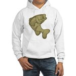 Smallmouthed Bass Hooded Sweatshirt