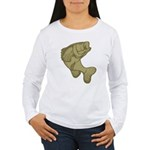 Smallmouthed Bass Women's Long Sleeve T-Shirt