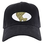 Smallmouthed Bass Black Cap