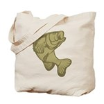 Smallmouthed Bass Tote Bag