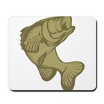 Smallmouthed Bass Mousepad
