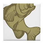 Smallmouthed Bass Tile Coaster