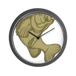 Smallmouthed Bass Wall Clock