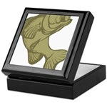Smallmouthed Bass Keepsake Box