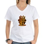 Melrose Elk Camp Women's V-Neck T-Shirt