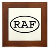 RAF Oval Framed Tile