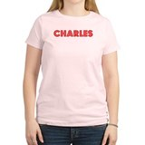 Retro Charles (Red) T-Shirt
