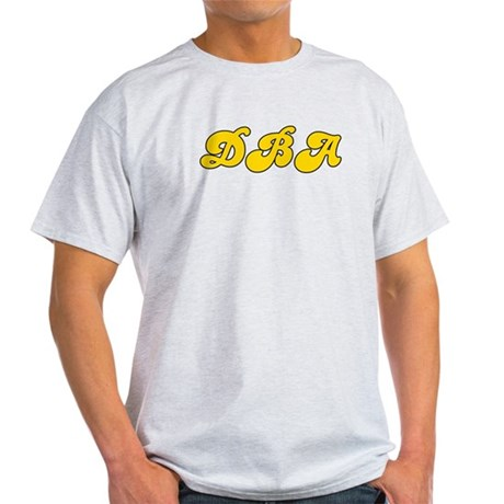 Retro DBA (Gold) Light T-Shirt