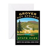 Grover Hot Springs - Greeting Card