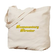 Retro Documentary.. (Gold) Tote Bag