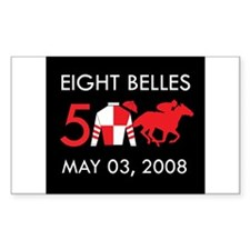 In Memory of Eight Belles Rectangle Decal