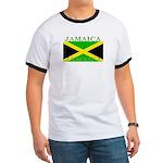 Jamaica Jamaican Flag Ringer T