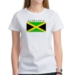 Jamaica Jamaican Flag Women's T-Shirt