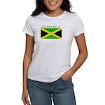 Jamaica Jamaican Flag Women's T-Shirt
