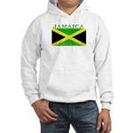 Jamaica Jamaican Flag Hooded Sweatshirt
