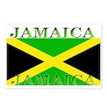 Jamaica Jamaican Flag Postcards (Package of 8)