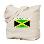 Jamaica Jamaican Flag Tote Bag