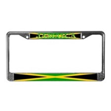 Jamaica Jamaican Flag License Plate Frame