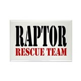 Raptor Rescue Team Rectangle Magnet (100 pack)