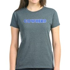 Retro Cowherd (Blue) Tee