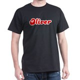 Retro Oliver (Red) T-Shirt