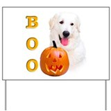 Halloween Kuvasz Boo Yard Sign