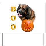 Halloween Leonberger Boo Yard Sign