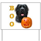 Halloween Mastiff Boo #5 Yard Sign