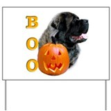 Halloween Mastiff Boo #4 Yard Sign