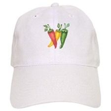 Hot Peppers Baseball Cap